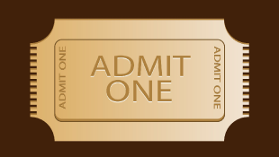 Admit one golden ticket