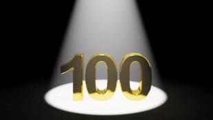 Gold 100 under spotlight