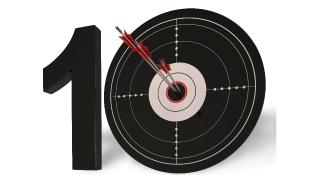 10 Dart Board