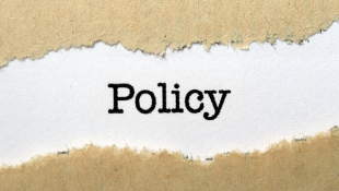 Policy on ripped paper