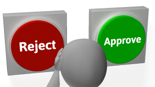 Reject Approve buttons