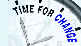 Time for Change on Clock