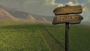 Sign in Field says Risk Reward