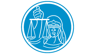 Lady law blindfolded holding scales of justice