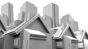 3D Models Homes and Skyscrapers