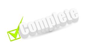 complete check box 3d