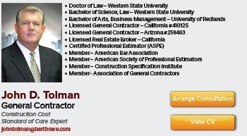 Construction Standard of Care Expert Witness