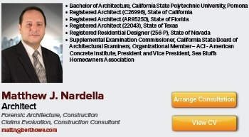 Consulting Architect and Construction Claims Professional
