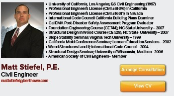 Consulting Civil Engineer and General Contracting Expert Witness