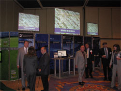 Event exhibitors and sponsors contribute to an informative and engaging environment